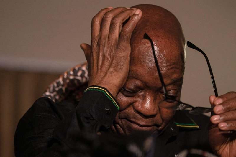 Breaking Zuma Has Died Ramaphosa To Address The Nation At 8pm Indafrica